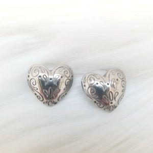 EUC Brighton Heart Stud Earrings